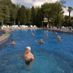La piscina grande di Abano Terme
