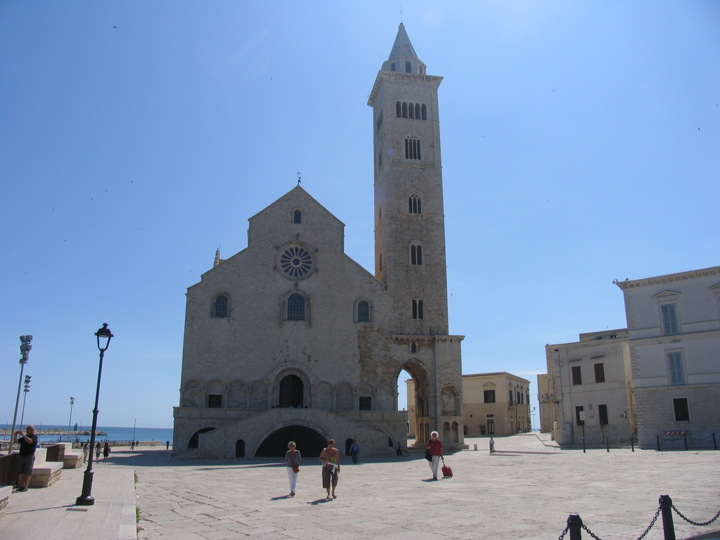 Trani Cathedral, a view