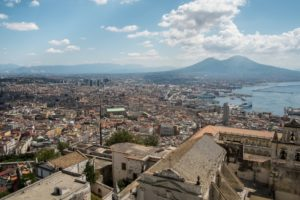 Vista di Napoli, Spaccanapoli. Immagine di flickr user Roberto Taddeo