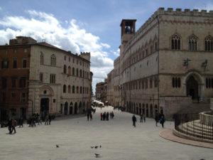 Perugia city centre, pic of Flickr User Perugiacity.com