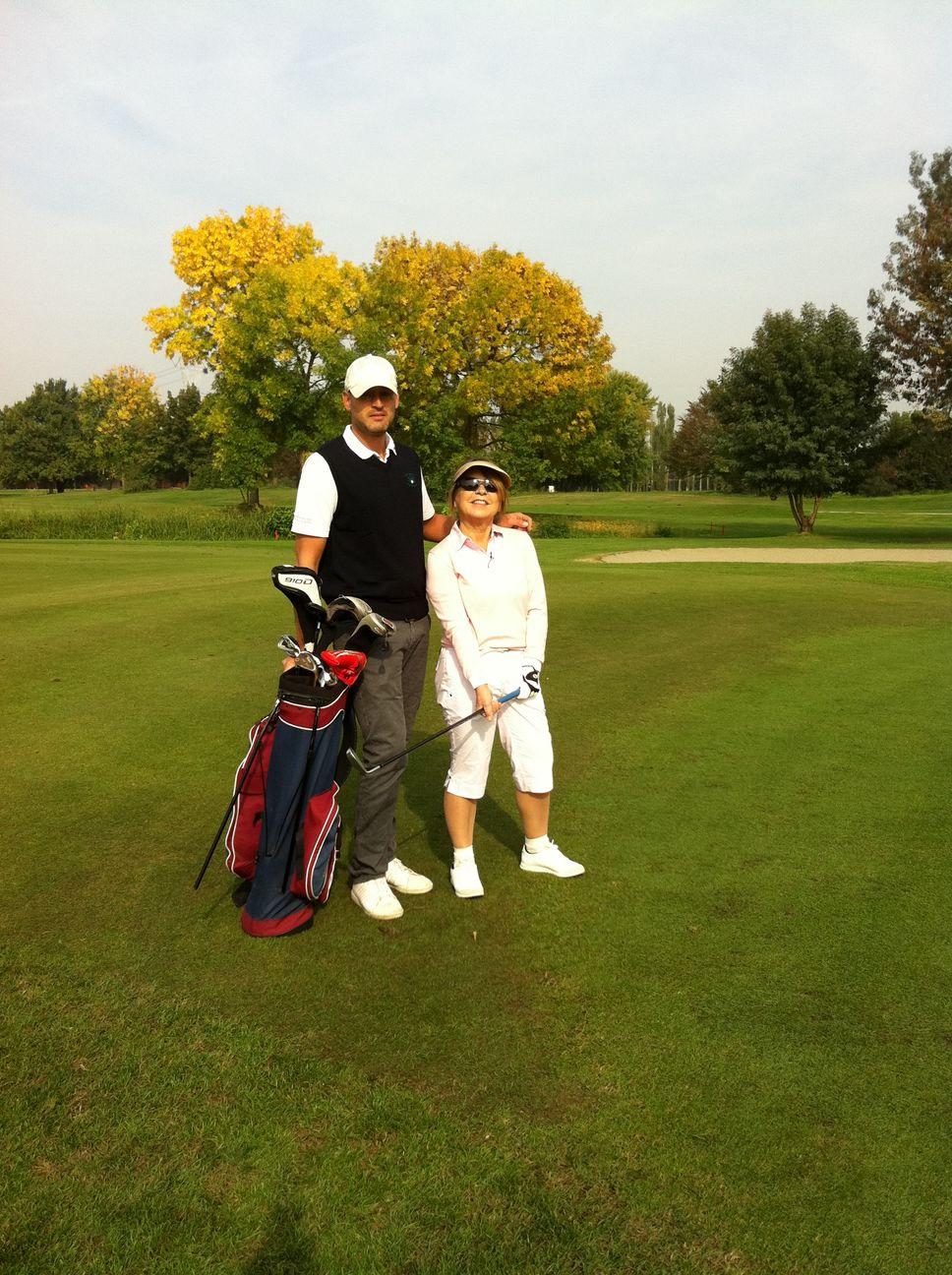 Syusy al Golf Club della Montecchia