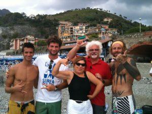 Levanto, surfing paradise
