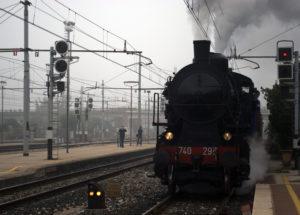 Treno a vapore in Veneto