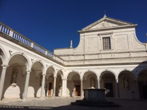 The Abbey of Montecassino