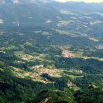 Alpago: Santa Croce valley view