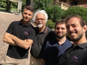 Patrizio. Luca Nicoli (fondatore di I Love Ostrica) ed i suoi collaboratori