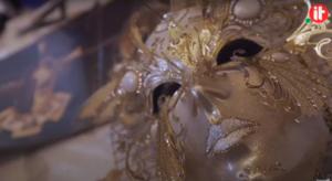 Maschera creata da La Fucina dei Miracoli