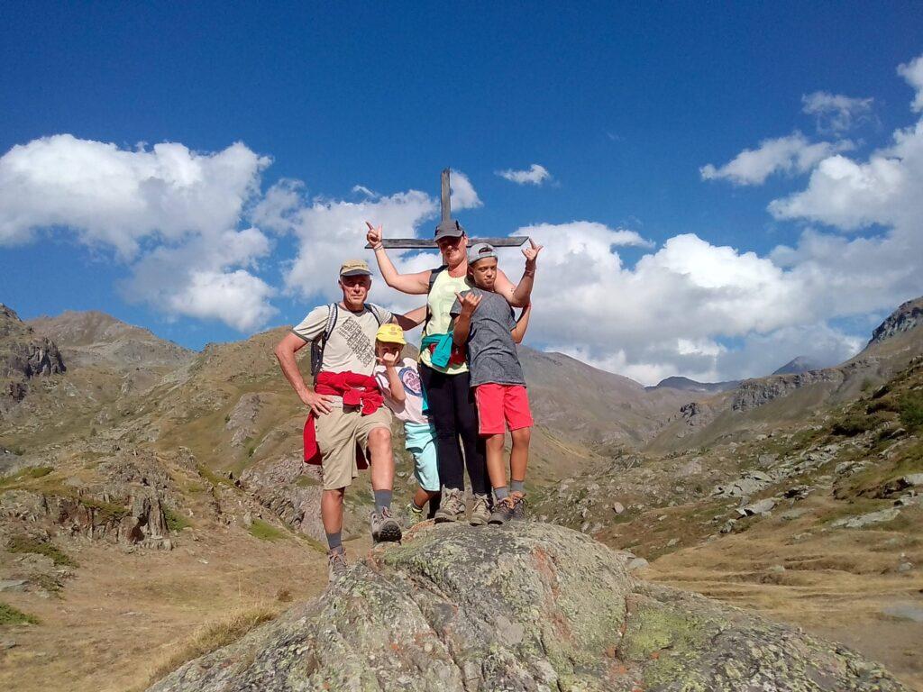 Valle d'Aosta, arrivo alla croce di Grauson