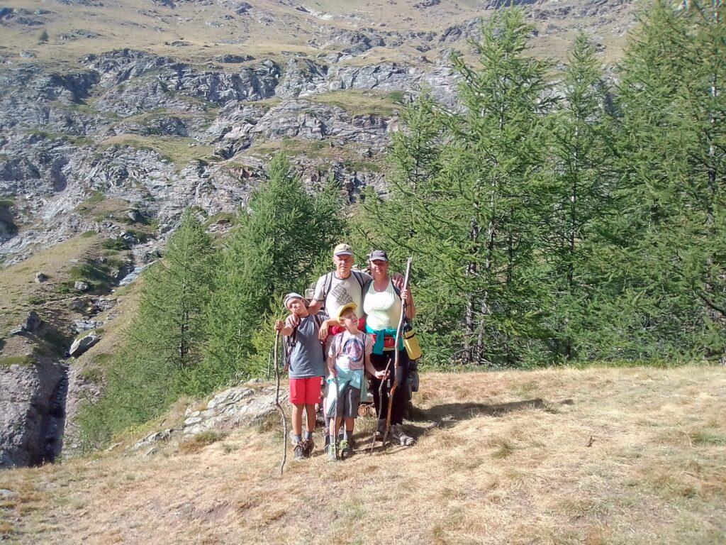 Valle d'Aosta, foto di famiglia