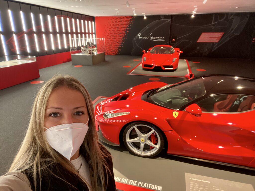 Sabina al Museo Ferrari