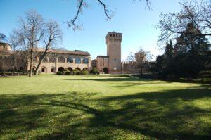 Castello di Formigine, parco