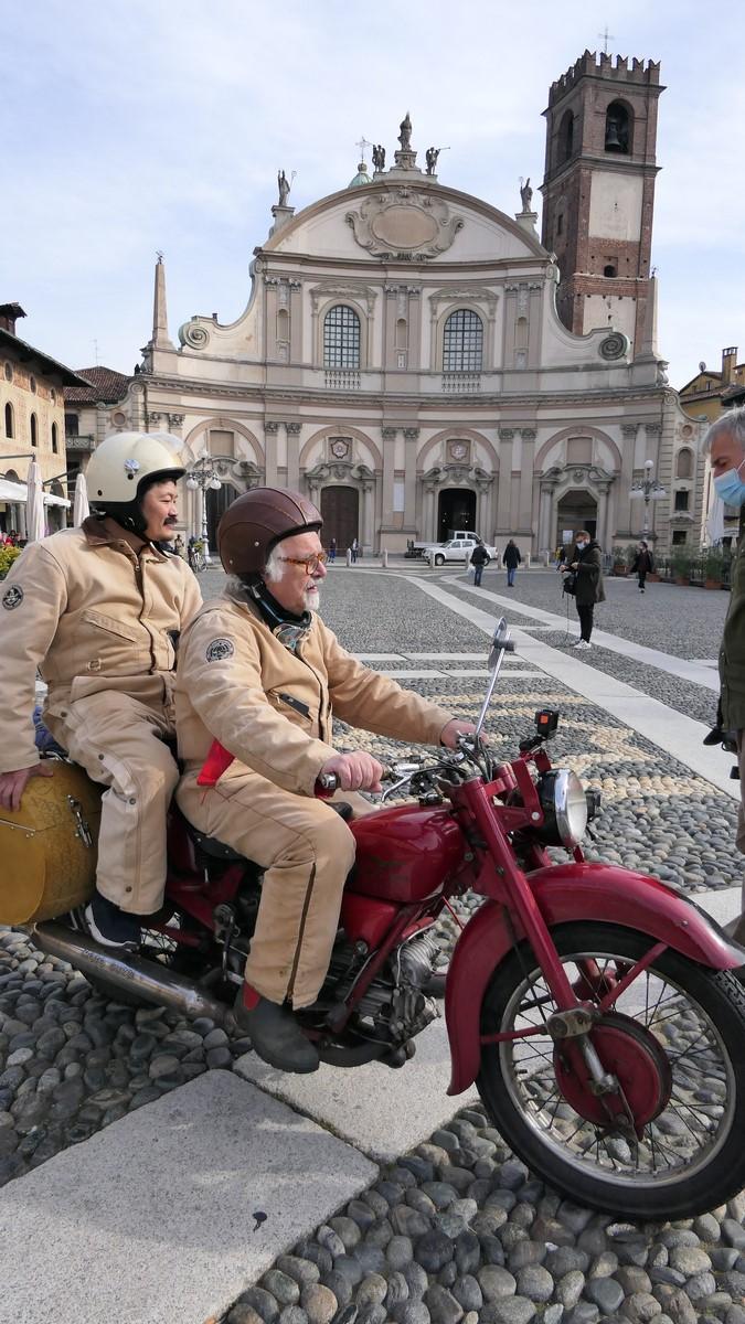 Pat e Hiro a Vigevano