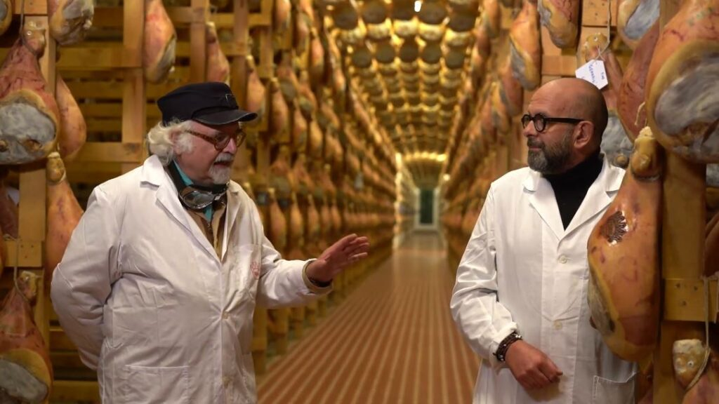 Con Claudio Leporati