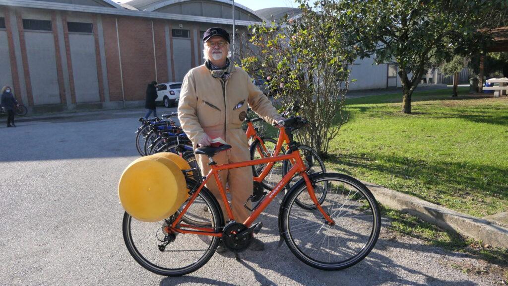 Astore trasformata in una bici