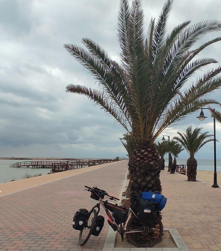Frida ci saluta dalla spiaggia di Torrevieja