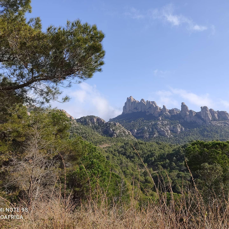 Panorama da Montserrat