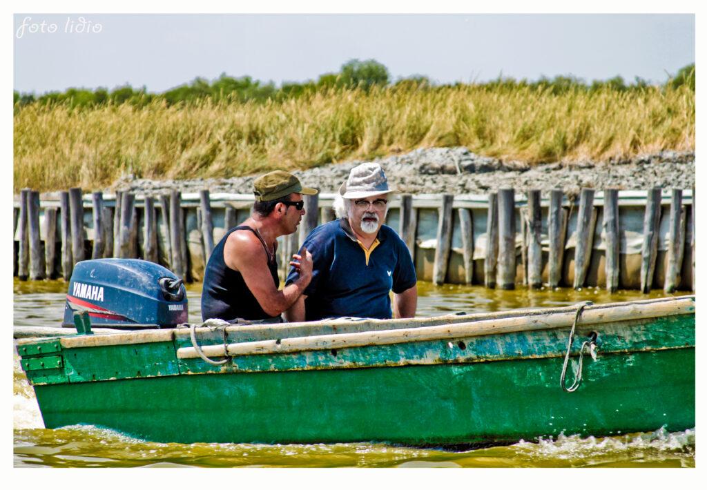 Idrovia Ferrarese: Patrizio in canoa