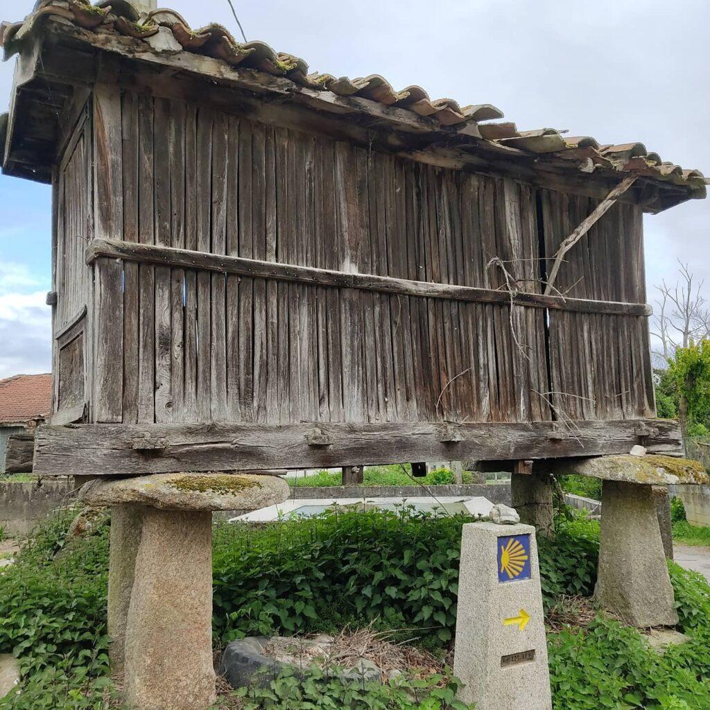 Hórreo, tipico granaio del nord-ovest della Penisola Iberica