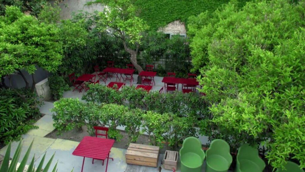 Favara Farm Cultural Park vista dall'alto