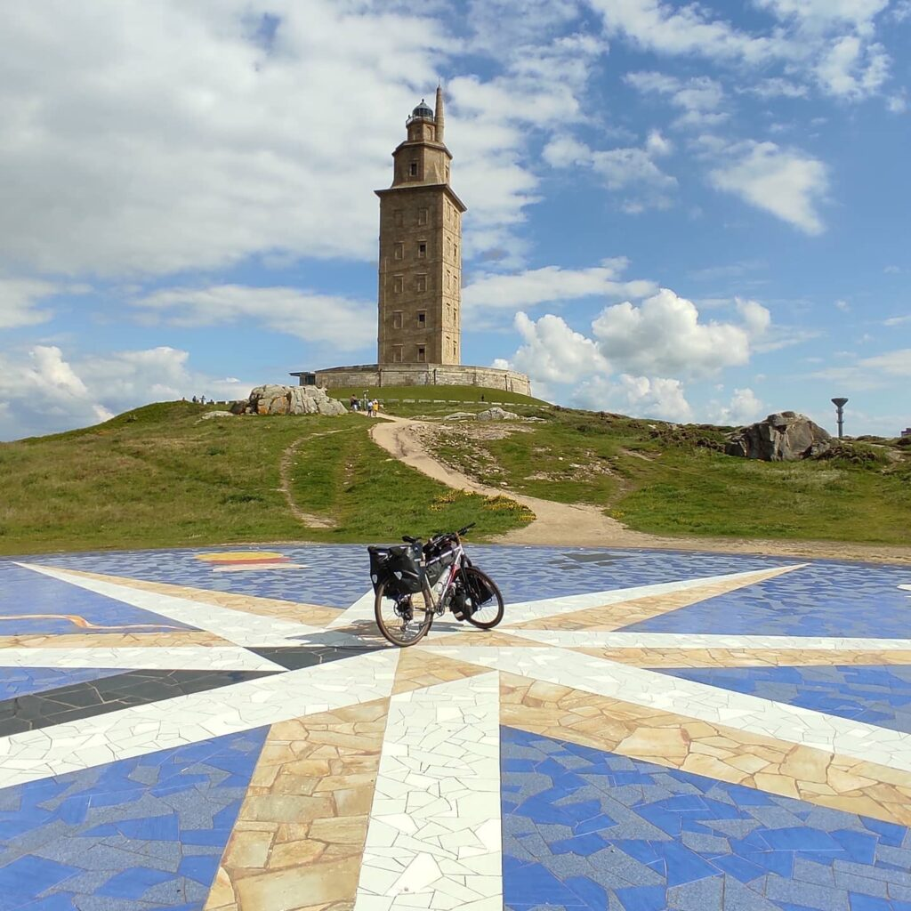 La Torre di Ercole a La Coruña