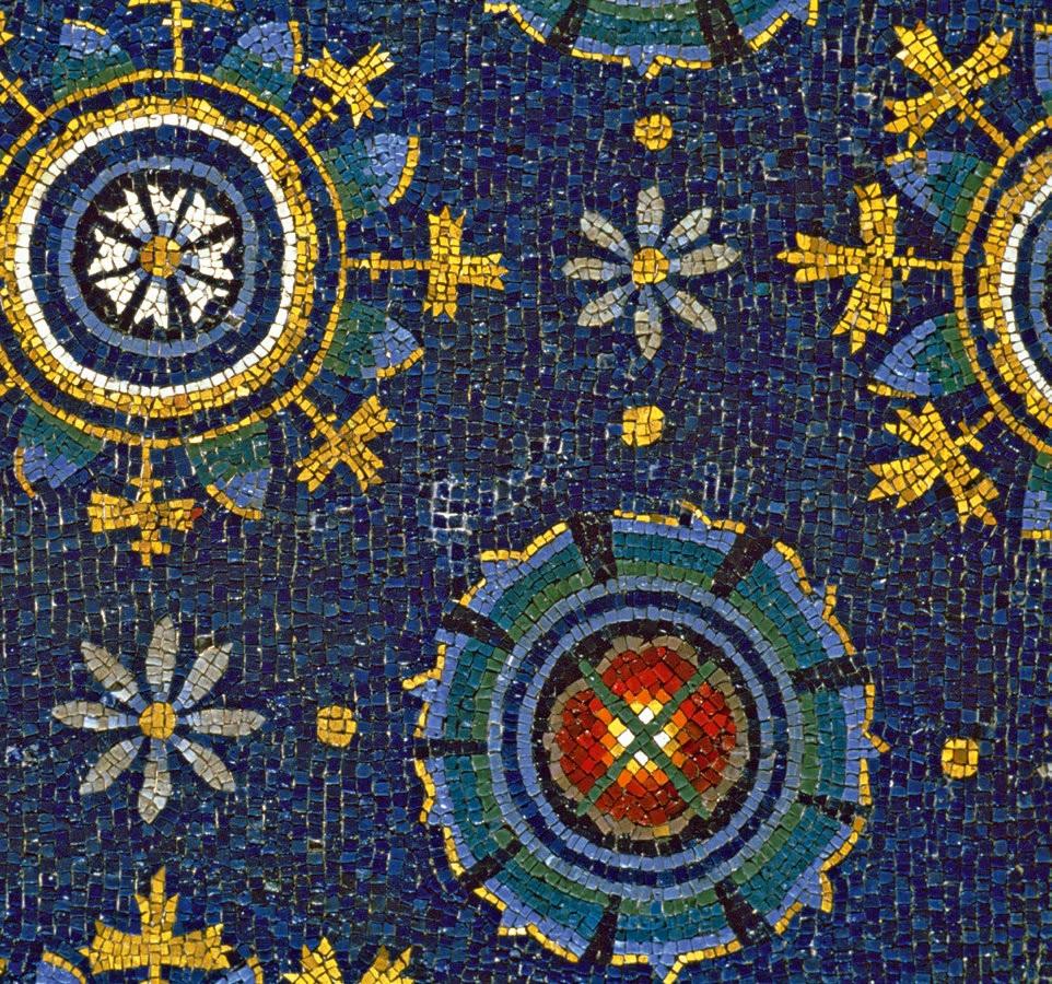 Mosaico del museo di Galla placidia