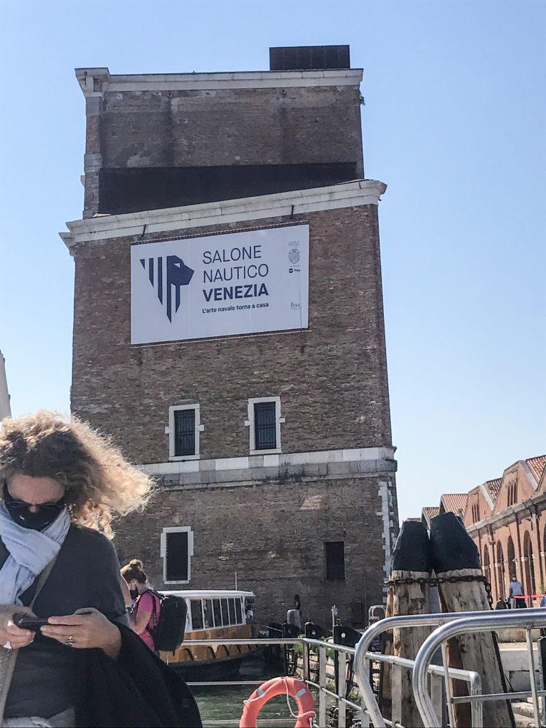 Venezia Ripartiamo dall'arsenale in vaporetto per ritornare in Stazione a Venezia Santa Lucia