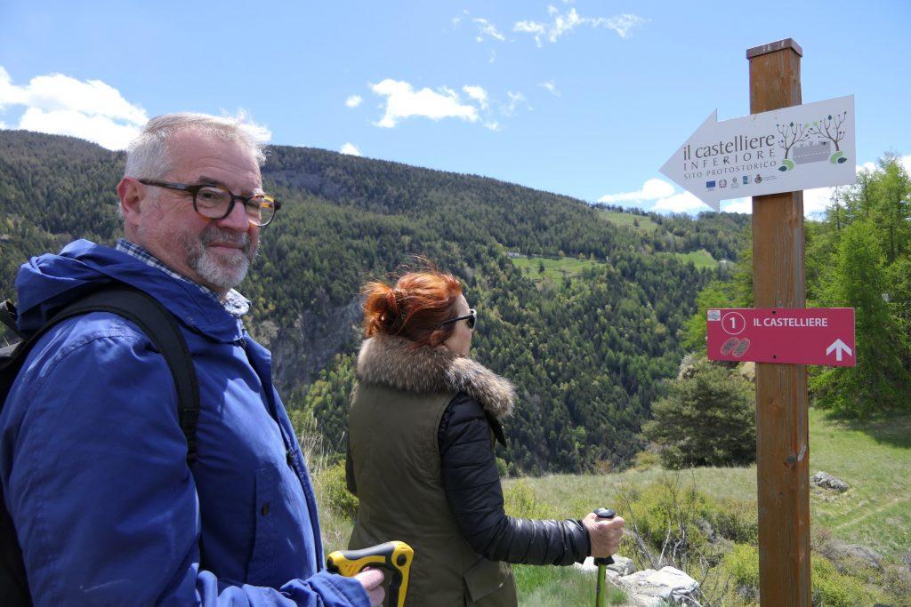 Verso il Castelliere di Lignan