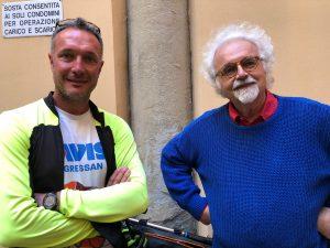 Patrizio Roversi e Daniele Vallet